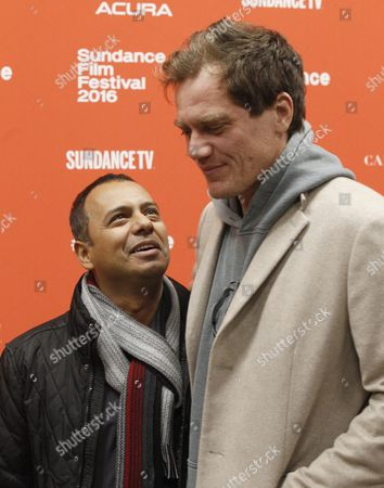 Us Actor Carlos Moreno Jr (l) and Us Actor Michael Shannon (r) Arrive For the Premiere of 'Frank & Lola' at the 2016 Sundance Film Festival in Park City Utah Usa 27 January 2016 the Festival Runs From 21 to 31 January United States Park City