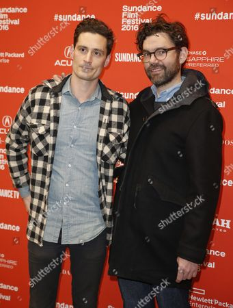 Us Producers John Baker (l) and Jay Van Hoy (r) Arrive For the Premiere of 'Frank & Lola' at the 2016 Sundance Film Festival in Park City Utah Usa 27 January 2016 the Festival Runs From 21 to 31 January United States Park City