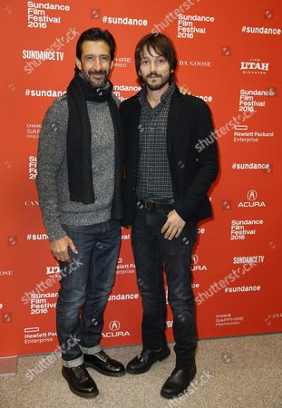Mexican Actor Jose Maria Yazpik (l) and Mexican Director Diego Luna (r) Arrive For the Premiere of the Mexican Film 'Mr Pig' at the 2016 Sundance Film Festival in Park City Utah Usa 26 January 2016 the Festival Runs From 21 to 31 January United States Park City