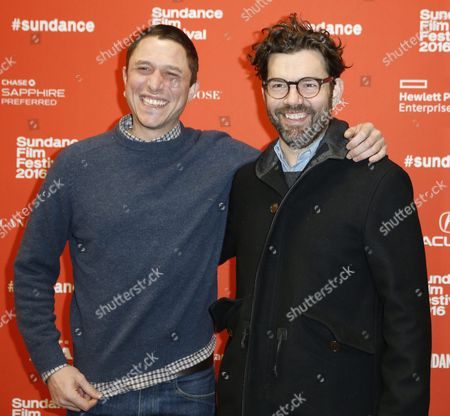 Us Writer/director Matthew M Ross (l) and Us Producer Jay Van Hoy (r) Arrive For the Premiere of 'Frank & Lola' at the 2016 Sundance Film Festival in Park City Utah Usa 27 January 2016 the Festival Runs From 21 to 31 January United States Park City