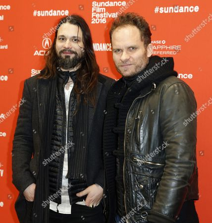 Music Composers Saunder Jurriaans (l) and Danny Bensi (r) Arrive For the Premiere of 'Complete Unknown' During the 2016 Sundance Film Festival in Park City Utah Usa 25 January 2016 the Festival Runs From 21 to 31 January United States Park City