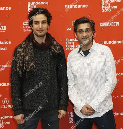 Israeli/palestinian Actor Adam Bakri Left and British Director Asif Kapadia Right Arrives For the Premiere of 'Ali Nino' at the 2016 Sundance Film Festival in Park City Utah Usa 27 January 2016 the Sundance Film Festival Opened 21 January Featuring a Lineup of 120 Independent Films at Us Cinema's Most Prominent Independent Film Event Sundance was Established in 1981 by Actor and Director Robert Redford As a Kind of Independent Alternative to Hollywood Event Taking Place Far From the Major Studios in the Ski Resort Town of Park City Utah the Festival Takes Place From 21 to 31 January ' United States Park City