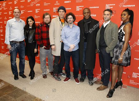 (l-r) Us Actors Frank De Julio Azita Ghanizada Michael Chernus Michael Shannon Joshua Marston Danny Glover Omar Metwally and Condola Rashad Arrive For the Premiere of 'Complete Unknown' During the 2016 Sundance Film Festival in Park City Utah Usa 25 January 2016 the Festival Runs From 21 to 31 January United States Park City