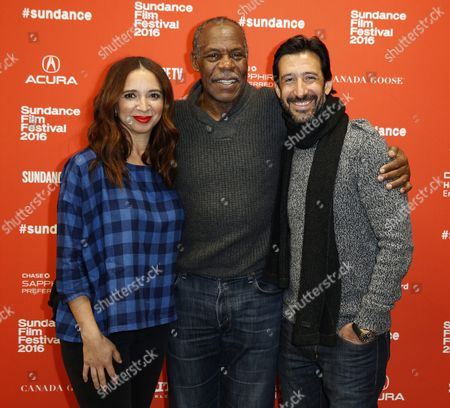 From (l-r): Us Actress Maya Rudolph Us Actor Danny Glover and Mexican Actor Jose Maria Yazpik Arrive For the Premiere of the Mexican Film 'Mr Pig' at the 2016 Sundance Film Festival in Park City Utah Usa 26 January 2016 the Festival Runs From 21 to 31 January United States Park City
