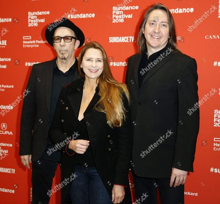 Us Screenwriters Duke Erikson (l) British Producer Allison Mcgourty (c) and British Director Bernard Macmahon (r) Arrive For the Premiere of 'American Epic' at the 2016 Sundance Film Festival in Park City Utah Usa 28 January 2016 the Sundance Film Festival Features a Lineup of 120 Independent Films at Us Cinema's Most Prominent Independent Film Event Sundance was Established in 1981 by Actor and Director Robert Redford As a Kind of Independent Alternative to Hollywood Event Taking Place Far From the Major Studios in the Ski Resort Town of Park City Utah the Festival Takes Place From 21 to 31 January United States Park City