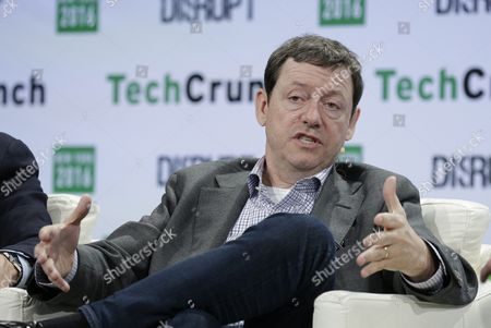 Fred Wilson Partner at Union Square Ventures Speaks on Stage at Techcrunch Disrupt 2016 New York in Brooklyn New York New York Usa 10 May 2016 United States Brooklyn