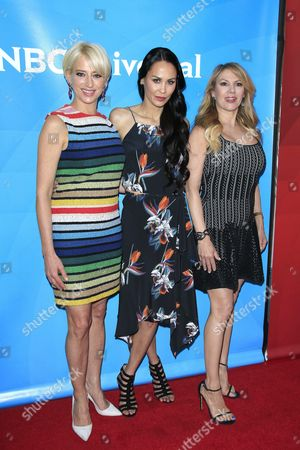 Cast Members Dorinda Medley Julianne Wainstein Ramona Singer of the Show 'The Real Housewives of New York' Arrive For the 2016 Nbcuniversal Summer Press Day at the Four Seasons Westlake in Westlake Village California Usa 01 April 2016 the Summer Press Day Event is Held by Nbcuniversal and is where the Talent of the Current Shows Are Introduced United States Westlake Village