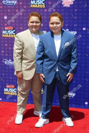 Us Actors Matthew Royer and Ben Royer Arrives For the 2016 Radio Disney Music Awards in Los Angeles California Usa 30 April 2016 the Special Two-hour Telecast 'Disney Channel Presents the 2016 Radio Disney Music Awards ' Will Be Presented on 01 May 2016 on Disney Channel in the Us and Thereafter in 159 Countries United States Los Angeles