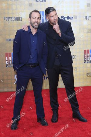 Us Actor Bryan Callen Arrives with Us Mma Fighter Brendan Schaub For the 10th Annual Guys Choice Awards at the Sony Pictures Studio in Culver City California Usa 04 June 2016 the Show Will Premiere in the Us on Spike Tv on 09 June 2016 United States Culver City