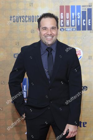 Stock Photo of Mexican Television Show Host George X Arrives For the 10th Annual Guys Choice Awards at the Sony Pictures Studio in Culver City California Usa 04 June 2016 the Show Will Premiere in the Us on Spike Tv on 09 June 2016 United States Culver City