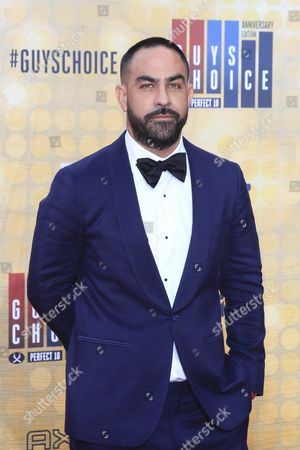 Us Tattoo Artist Chris Nunez Arrives For the 10th Annual Guys Choice Awards at the Sony Pictures Studio in Culver City California Usa 04 June 2016 the Show Will Premiere in the Us on Spike Tv on 09 June 2016 United States Culver City