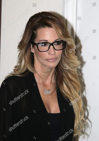 Jessica Drake an Adult Film Performer Attends a Press Conference in Which She Accused Republican Presidential Candidate Donald Trump of Allegedly Sexually Harassing Her at a 2006 Golf Event in Lake Tahoe at a Press Conference Held by Attorney Gloria Allred in Los Angeles California Usa 22 October 2016 a Number of Women Have Come Forth Accusing Republican Presidential Candidate Donald Trump of Sexual Misconduct Trump Has Said He Will Sue All His Accusers After the Election United States Los Angeles