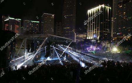 Canadian Dj Deadmau5 Performs at the Ultra Music Festival in Miami Florida Usa 19 March 2016 the Festival Runs From 18 to 20 March United States Miami