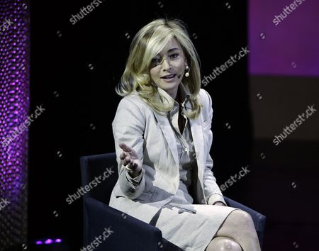 Federica Marchionni Ceo of Lands End Addresses the Sixth Annual Women in the World Summit at the David H Koch Theater at Lincoln Center in New York New York Usa 23 April 2015 United States New York
