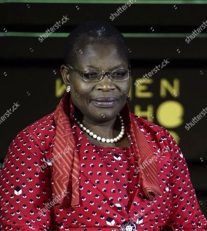 Nigerian Obiageli Ezekwesili Co-founder of the Bring Back Our Girls Movement Addresses the Sixth Annual Women in the World Summit at the David H Koch Theater at Lincoln Center in New York New York Usa 23 April 2015 United States New York
