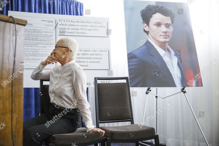 Irina Yelchin (l) Mother of the Late Us Actor Anton Yelchin Holds Back Tears During a Press Conference Announcing Their Wrongful Death Lawsuit Against Fiat Chrysler in Los Angeles California Usa 02 August 2016 Anton Yelchin Died on 19 June 2016 After His 2015 Jeep Grand Cherokee Crushed Him in His Driveway Due to what the Lawsuit Says was a Design Defect in the Vehicle United States Los Angeles