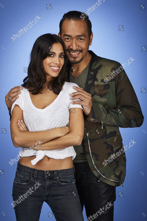 Stock Photo of Fiona Wade and Ronnie Del Barrio
