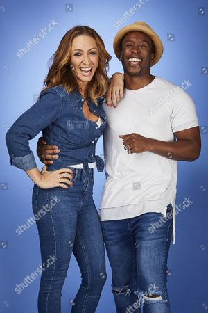 Lucy-Jo Hudson and Rohan Pinnock-Hamilton