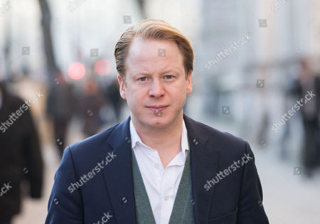 Ben Gummer out and about in Westminster. He is the Member of Parliament for Ipswich and the youngest minister attending cabinet meetings