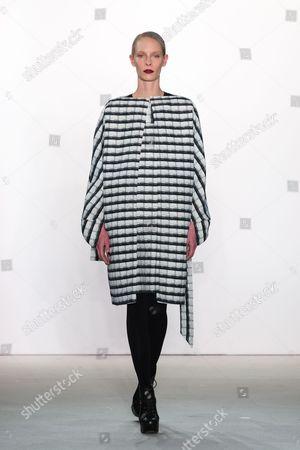 Editorial image of I'vr Isabel Vollrath show, Runway, Autumn Winter 2017, Mercedes-Benz Fashion Week, Berlin, Germany - 20 Jan 2017