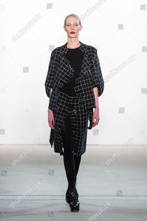Stock Image of Medea Paffenholz on catwalk