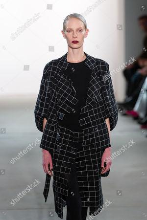 Editorial photo of I'vr Isabel Vollrath show, Runway, Autumn Winter 2017, Mercedes-Benz Fashion Week, Berlin, Germany - 20 Jan 2017