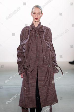 Stock Photo of Medea Paffenholz on catwalk
