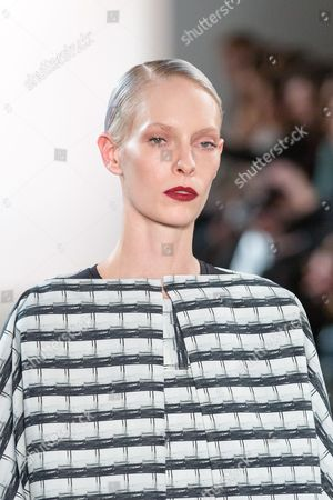 Editorial picture of I'vr Isabel Vollrath show, Runway, Autumn Winter 2017, Mercedes-Benz Fashion Week, Berlin, Germany - 20 Jan 2017