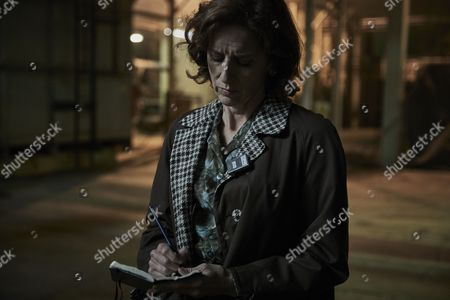 ENDEAVOUR (Series 4, Episode 4) - Abigail Thaw as Dorothea Frazil.