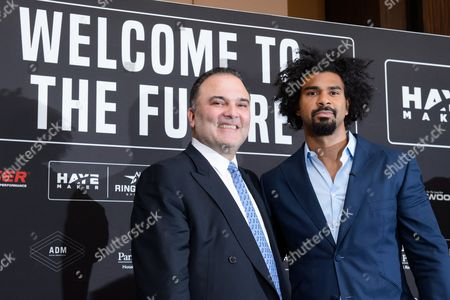 Stock Image of David Haye and Richard Schaefer