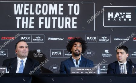 David Haye and Richard Schaefer