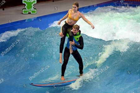 Editorial picture of Water sports fair boot 2017 in Duesseldorf, Germany - 20 Jan 2017