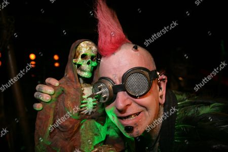 Editorial photo of 'Never Ending Nightmare' by The Circus of Horrors, Reading, Berkshire, UK - 19 Jan 2017