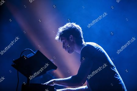 Scottish Singer Paulo Nutini Performs on Stage at the 26th Bluesfest in Byron Bay Australia 03 April 2015 Australia's Premier Blues and Roots Music Festival Runs From 02 to 06 April Australia Byron Bay