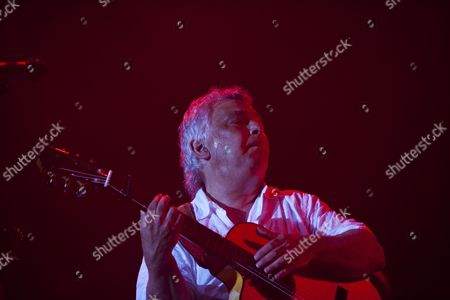 Member of the Band Gipsy Kings Nicolas Reyes Performs on Stage at the 26th Bluesfest in Byron Bay Australia 04 April 2015 Australia's Premier Blues and Roots Music Festival Runs From 02 to 06 April Australia Byron Bay