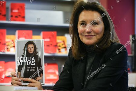 Former French Model Cecilia Attias Presents Her Book Titled 'Une Envie De Verite' (a Desire For Truth) in Brussels Belgium 06 December 2013 the Ex-wife of Former French President Nicolas Sarkozy Published Her Autobiography Belgium Brussels
