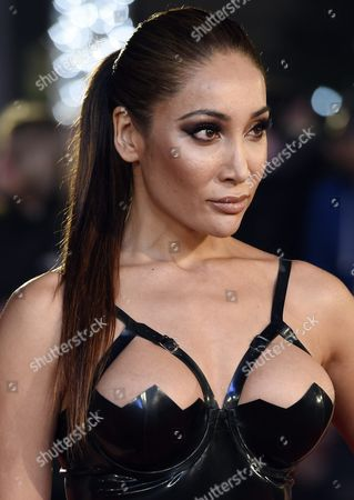 British Actress Sofia Hayat Arrives to the Uk Premiere of 'The Danish Girl' in Leicester Square London Britain 08 December 2015 the Movie Will Be Released in British Theaters on 01 January 2016 United Kingdom London