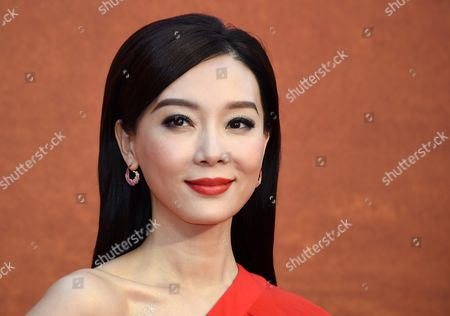Chinese Actress/cast Member Chen Shu Attends the European Film Premiere of 'The Martian' at Leicester Square in London Britain 24 September 2015 the Movie is Released in the Uk on 30 September United Kingdom London