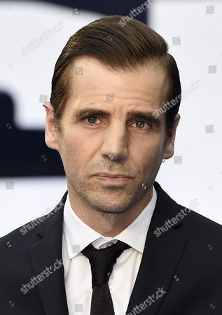 British Actor Mel Raido Arrives For the World Premier of 'Legend' in Leicester Square London Britain 03 September 2015 the Movie Will Debut in British Teathers on 09 August United Kingdom London