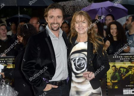 British Tv Presenter Richard Hammond (l) and Wife Amanda Etheridge Arrive For the Uk Premiere of 'Sicario' in London Britain 21 September 2015 the Movie Will Be Relased in British Theaters on 08 October United Kingdom London