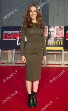 British Actress Charlotte Spencer Attends the Double Bill Gala Screening of 'Imperium' and 'Swiss Army Man' at the O2 Arena in London Britain 23 September 2016 Imperium Will Be Released in Uk Cinemas on 23rd September and Swiss Army Man Will Be Released in Uk Cinemas on 30th September United Kingdom London