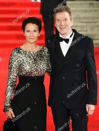 Danish Actor/cast Member Jesper Christensen (r) and Wife and Actress Tove Bornhoft Attend the World Premiere of the New James Bond Film 'Spectre' at the Royal Albert Hall in London Britain 26 October 2015 Spectre is the 24th Official James Bond Film and is Released in the United Kingdom on 26 October United Kingdom London