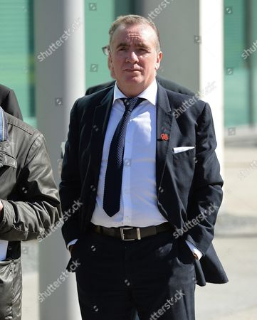Ian Ayre (r) the Ceo of Liverpool Football Club Walks Towards the Coroners Court Before the Verdict of the Hillsborough Inquest is Announced at the Coroners Court Warrington Britain 26 April 2016 the Hillsborough Disaster was a Human Crush That Caused the Deaths of 96 People and Injured 766 Others at a Fa Cup Semi Final Soccer Match Between Liverpool and Nottingham Forest at Hillsborough Stadium Sheffield England on 15 April 1989 United Kingdom Warrington