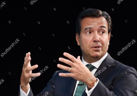 Group Chief Executive of Lloyds Banking Group Antonio Horta-osorio Speaks at the Institute of Directors Annual Convention at the Royal Albert Hall in London Britain 06 October 2015 United Kingdom London