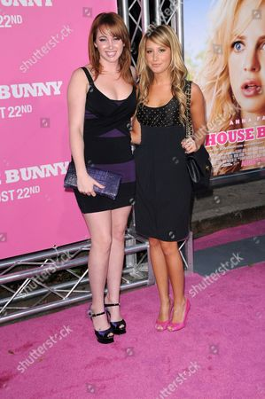 Jennifer Tisdale and Ashley Tisdale