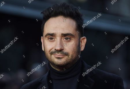 Stock Image of Director J a Bayona Arrives For the Premiere of 'A Monster Calls' on the Second Night of the 60th Bfi London Film Festival in London Britain 06 October 2016 the Festival Runs From 05 to 16 October United Kingdom London