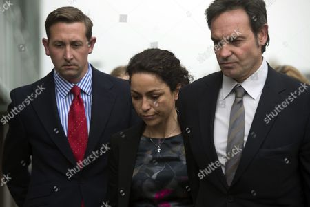 Former Chelsea Doctor Eva Carneiro (centre) Arrives with Her Husband Jason De Carteret at South London Employment Tribunal in Croydon South London 07 June 2016 Eva Carneiro Has Brought a Constructive Dismissal and Sex Discrimination Suit Against Her Former Employers Chelsea Football Club She Also Has a Separate But Connected Legal Action Against Then Former Club Manager Jose Mourhino United Kingdom Croydon