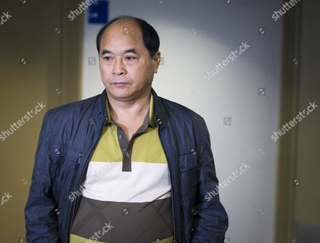 Diran Lin Father of Victim Jun Lin Walks to the Courtroom For the Murder Trial of Luka Rocco Magnotta at Court in Montreal Canada 29 September 2014 Magnotta is Accused of Murdering Chinese Student Jun Lin in 2012 Magnotta Pleaded not Guilty to Five Charges Canada Montreal