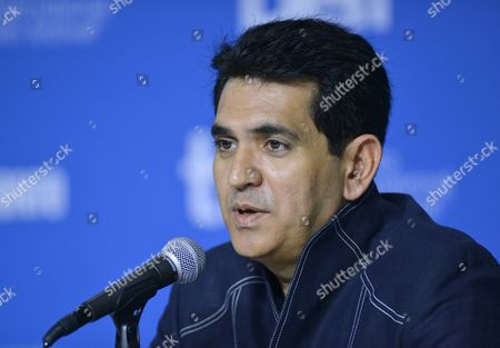 Indian Director Omung Kumar Attends the Press Conference For 'Mary Kom' During the 39th Annual Toronto International Film Festival (tiff) in Toronto Canada 04 September 2014 the Festival Runs From 04 To14 September Canada Toronto