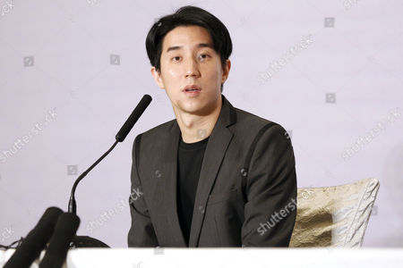 Chinese Entertainment Star Jaycee Chan Attends a Press Conference After His Release From Prison in Beijing China 14 February 2015 Jaycee Chan Son of Hollywood Actor Jackie Chan was Released From Prison on 13 February 2015 After Being Sentenced to Six Months in Prison and Fined 2000 Yuan (321 Dollars) For Drug Related Charges China Beijing